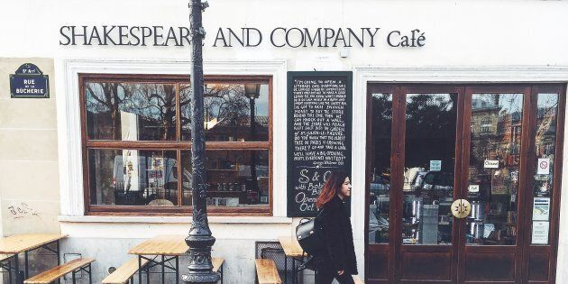 Shakespeare and Co is open on