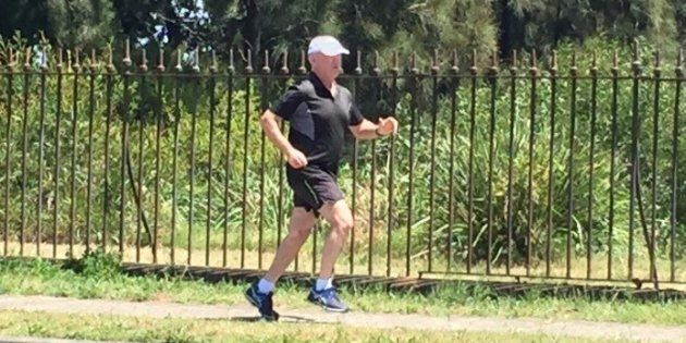 After 23 years of running, John Churchill is about to reach an impressive milestone: 10,000 kilometres covered.