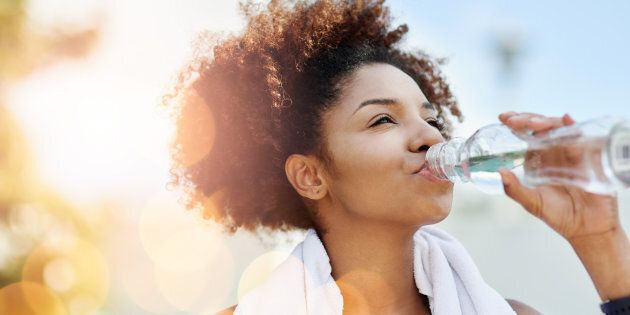 How much water you drink depends on lots of factors, including how active you