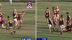 Barry Hall's Brain Snap: AFL Hall Of Famer Punches Two