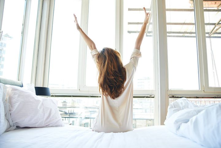 Getting up even 20 minutes earlier means you can enjoy a slower morning and ease into the day.