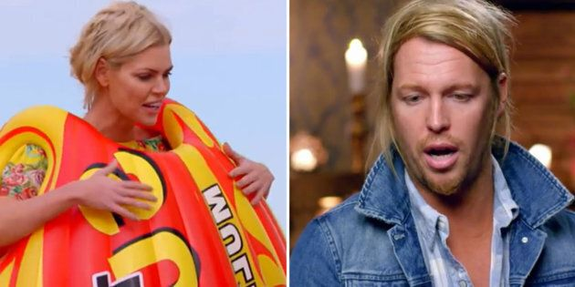 Sophie Monk's Family Went Undercover On 'The