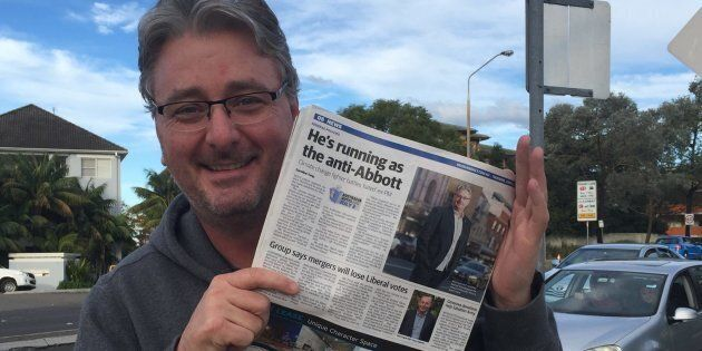 Labor's candidate in Warringah, Andrew