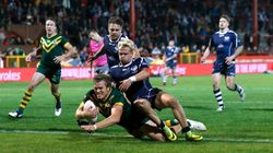Kangaroos Crush Scotland In Four Nations