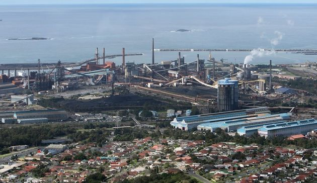 The Bluescope Steel Port Kembla
