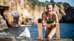 Australian Rhiannan Iffland Is Now A Red Bull Cliff Diving