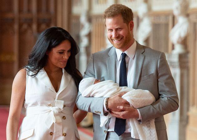 해리 왕자와 메건 마클 부부의 첫 아이가