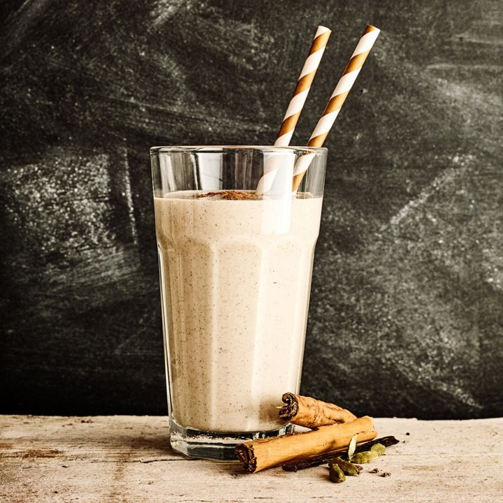 If you're feeling brave, try blending the chai latte with ice for a fresh twist.
