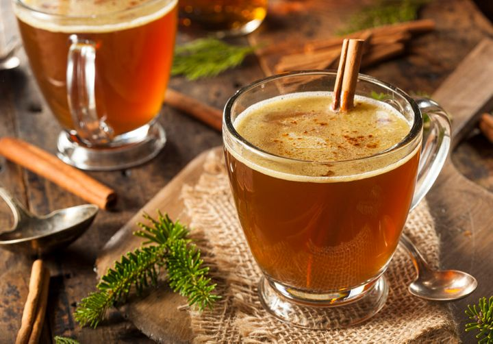 This warm whisky cocktail is perfect for keeping you toasty on a cold night.