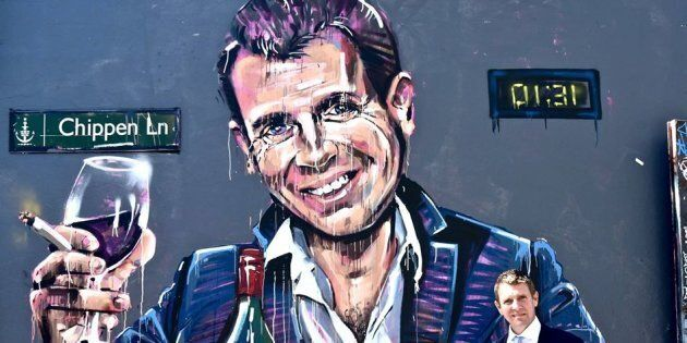 Mike Baird Poses With Infamous 'Casino