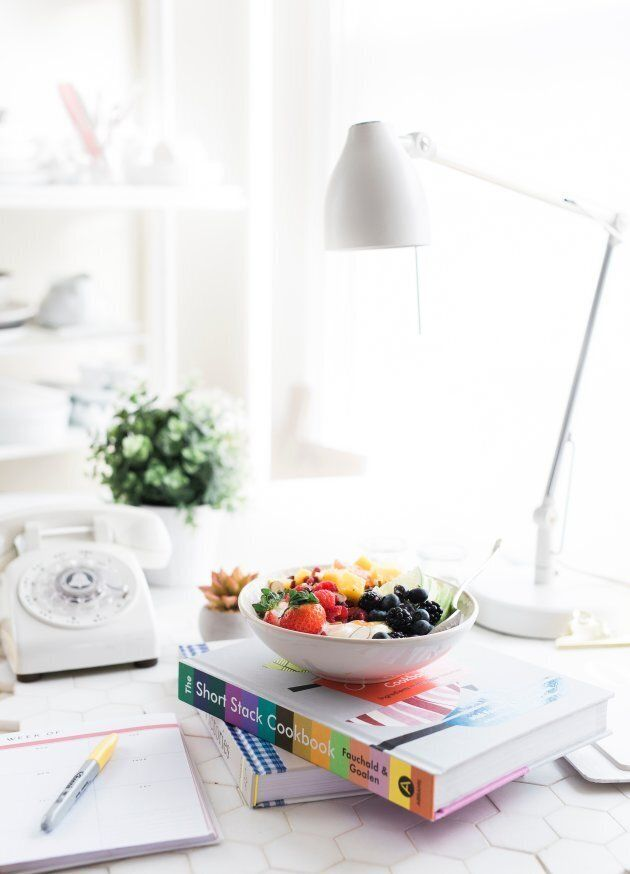 Eat meals away from your desk and any