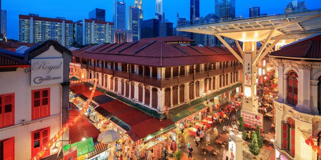 Food Street in Singapore's Chinatown