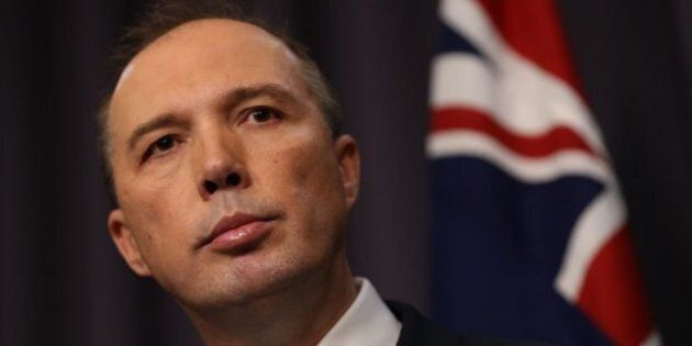 Immigration Minister Peter Dutton says there