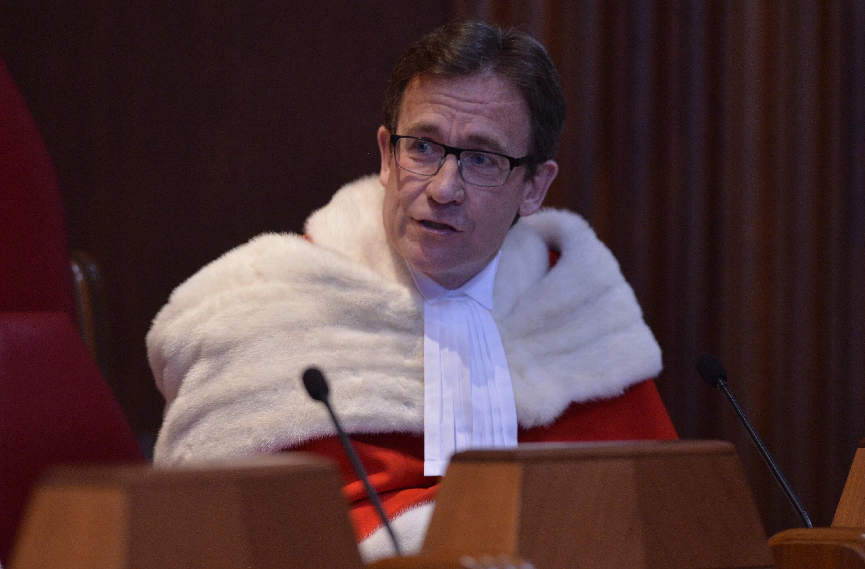 Le juge de la Cour suprême Clément Gascon