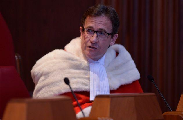 Le juge de la Cour suprême, Clément Gascon, en