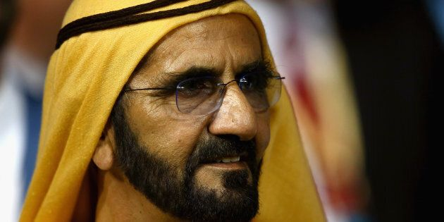 Sheikh Mohammed at the Dubai World Cup this year, the only race meeting in the world where you can't...