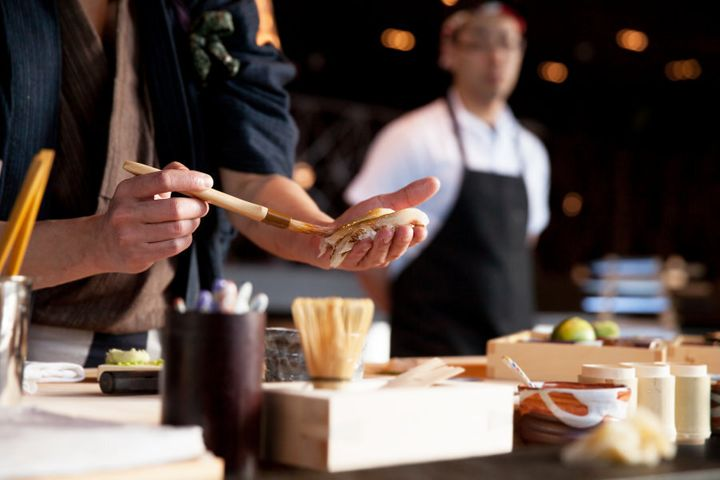 There's a lot more involved in sushi making than we ever thought.