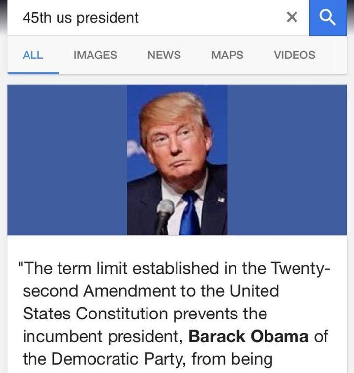 Screenshots from Google