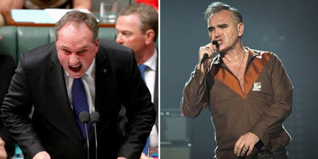 Barnaby Joyce has celebrity feud number two for the year