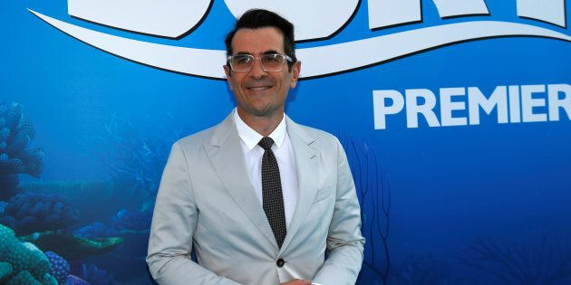 Ty Burrell voices a neurotic Beluga whale in 'Finding
