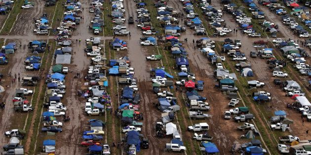 The Deni Ute Muster in Deniliquin, New South Wales REUTERS/Jason