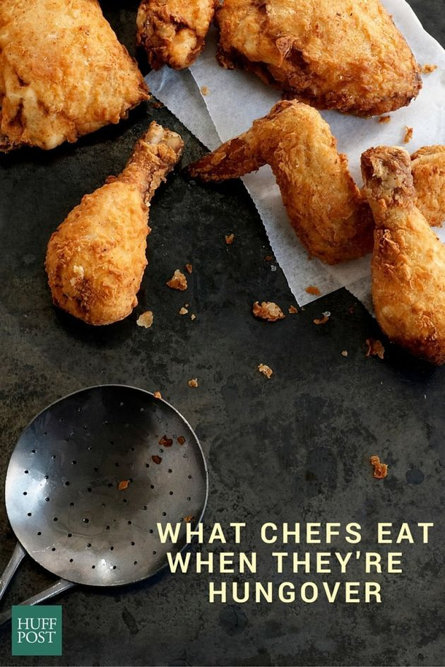 What Chefs Crave (And Cook) After A Big