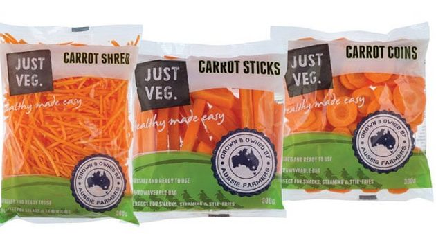 Farmers have been forced to diversify the way they sell carrots to