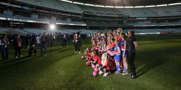 The women's AFL sides are announced. And that's not the only