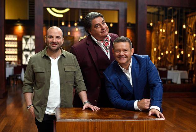 The boys: George, Matt and