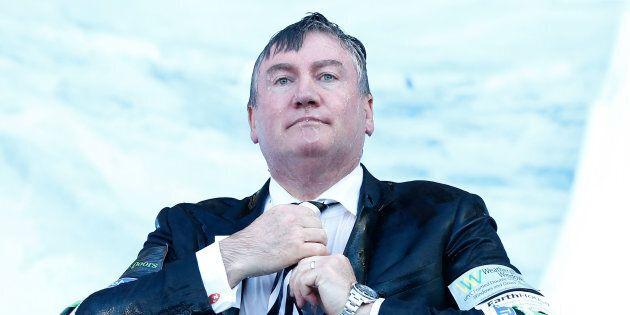 Eddie McGuire has been criticised on social media over recent radio