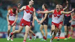 Swans Break Tackle Record, Belt Demons In The