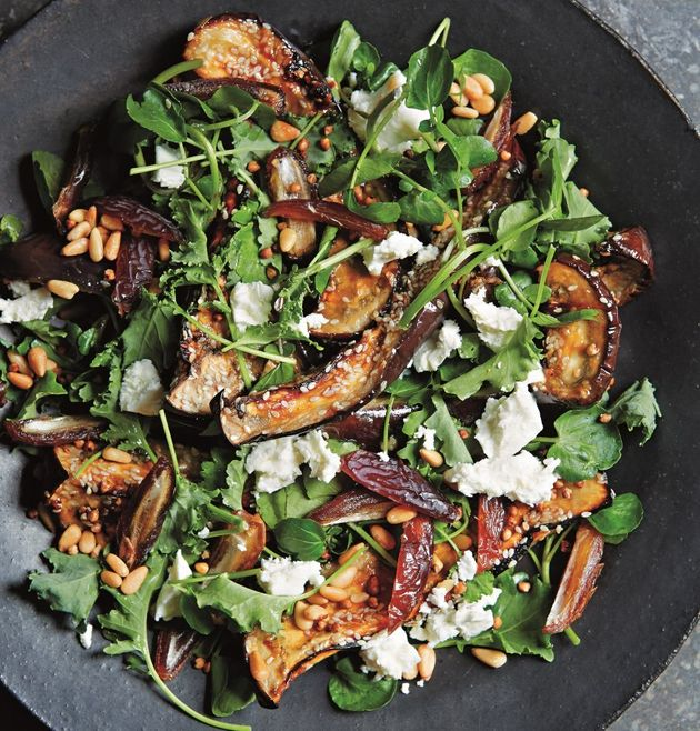 This salad is a delicious balance of salty, sweet and