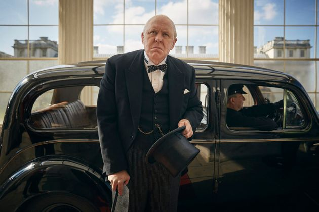 John Lithgow as British PM, Sir Winston