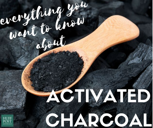 So, Eating 'Activated Charcoal' Is A Thing