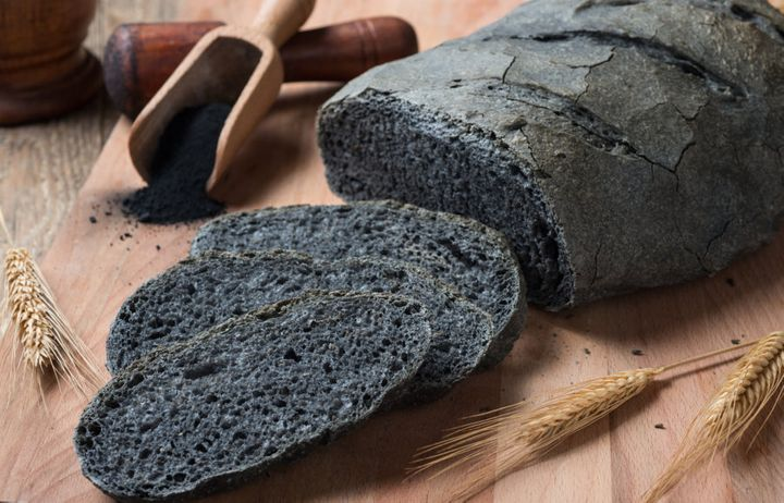Activated charcoal is even added to some breads.