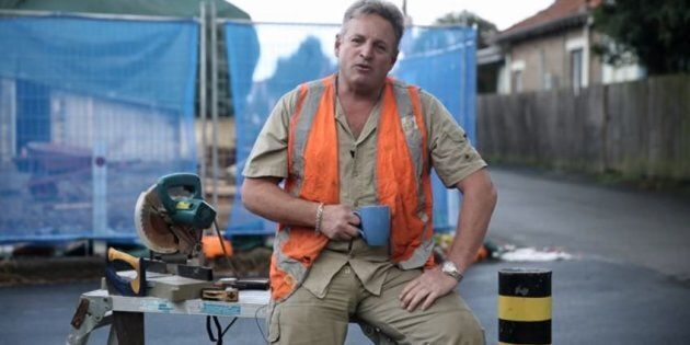 The tradie from the Liberals' new