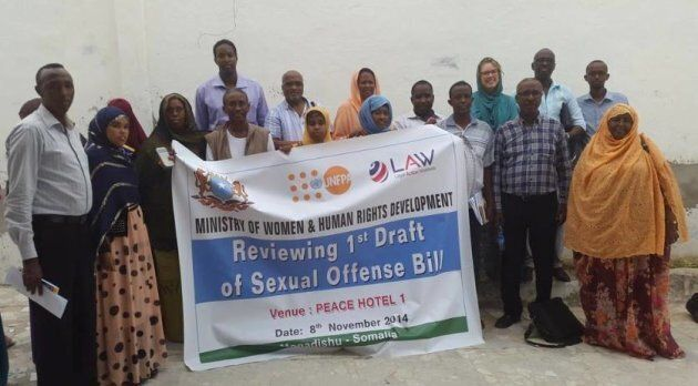 LAW has been fighting for over four years to get the Sexual Offences Bill passed in Somalia.