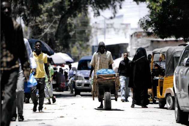 Brown is aiming to change the rights for all Somalians and hopes that the country will become a more popular tourist detestation.