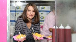 Tina Fey Handed Out Cheese Fries To Celebrate 'Mean Girls'