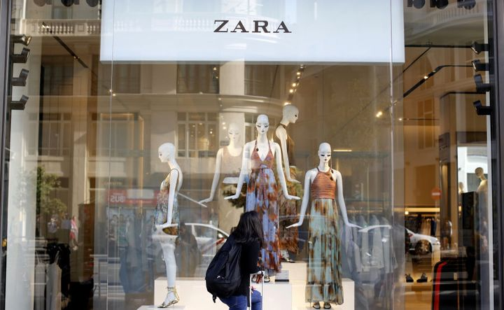 Find Balenciaga, YSL and Chanel-esque looks all in one place. Zara.