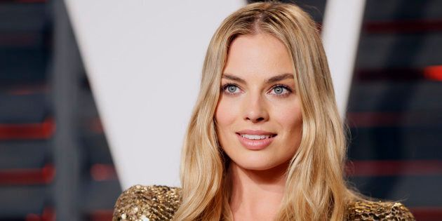 Margot Robbie is a glowing goddess of complexion