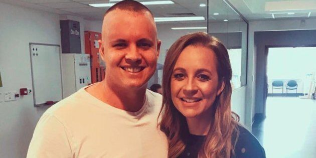 The former 'X Factor' contestant spoke to 'The Project's Carrie Bickmore.