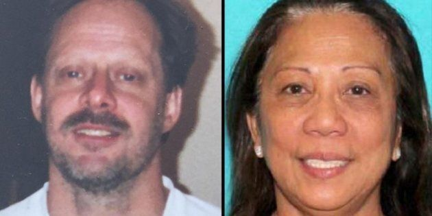 Las Vegas gunman Stephen Paddock and his Australian girlfriend, Marilou