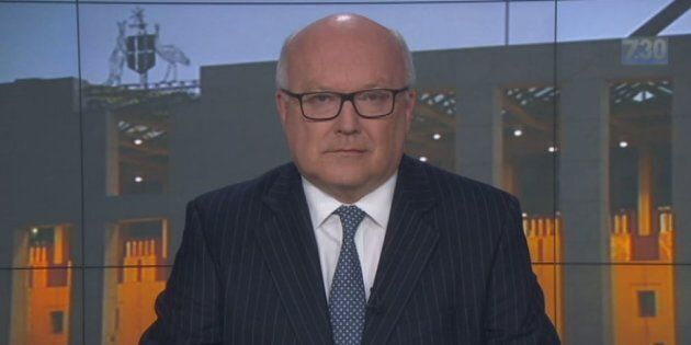 Attorney-General George Brandis said he 'had no knowledge' of the federal government enquiring about...