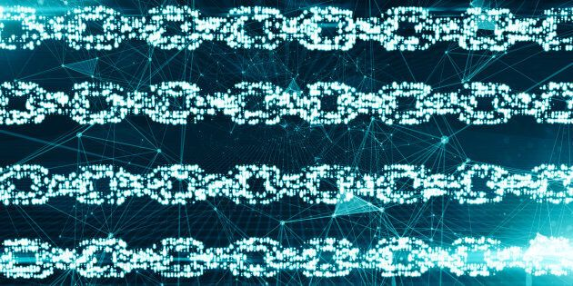 How does blockchain have the power make the energy market more democratic?