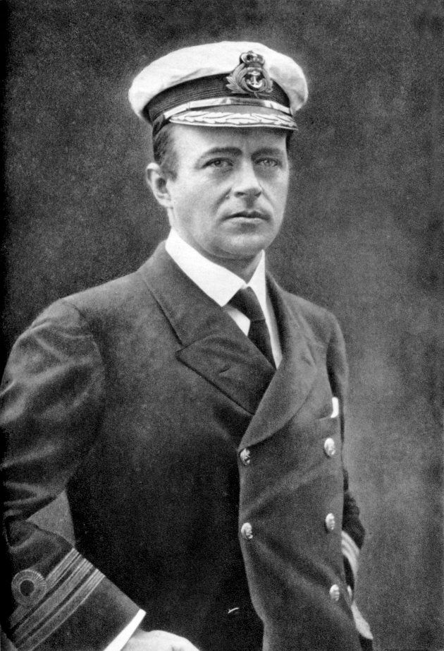 Robert Falcon Scott (1868-1912) naval officer explorer of Antarctic (south