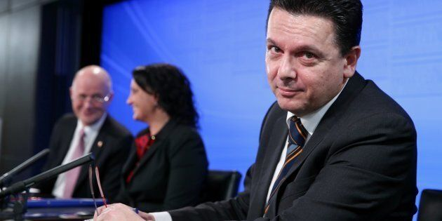 Nick Xenophon is standing aside from federal