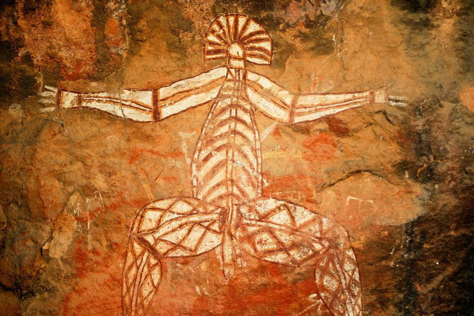 Kakadu National Park has rock art -- some on display, and some not -- dating back generations.