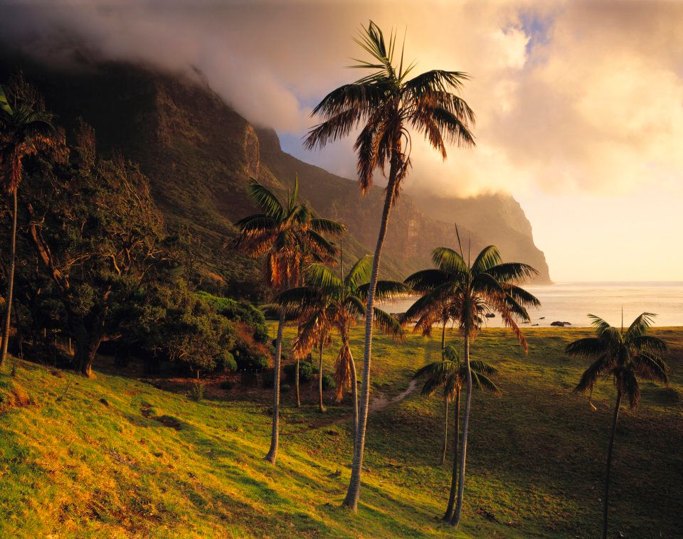 The unbelievable landscape of Lord Howe Island.