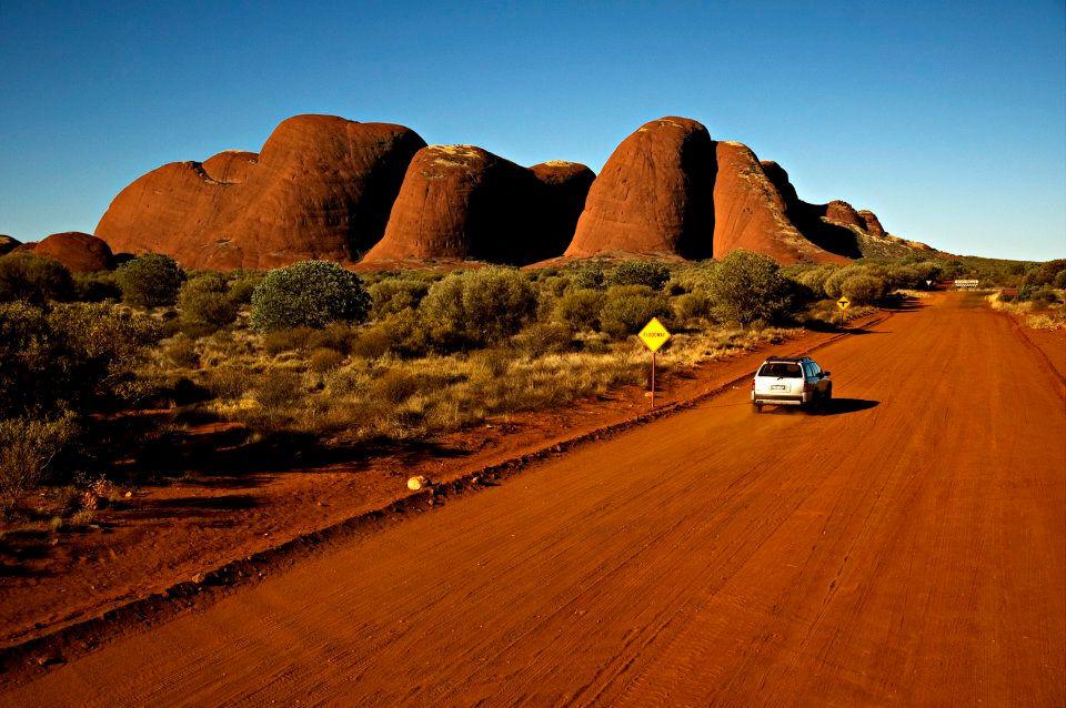 'The Olgas' in Uluru-Kata Tjuta National Park.